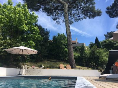 Photo for Anglet Biarritz - Quiet villa with pool on the edge of the forest.