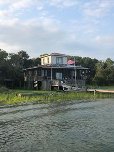 Photo for Island Cottage only accessible by boat! Relax at the Fin & Tonic on Goat Island