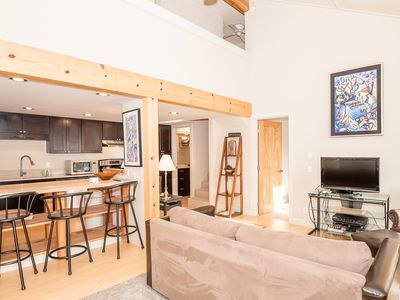 Photo for Modern Two Bedroom Right Next to River Run Lifts and Walk to Downtown Ketchum