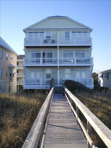 Photo for Beachfront House with 3 Decks and Awesome Ocean Views & Access