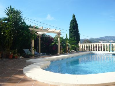 Photo for Apartment in Sanet y Negrals with private pool and fantastic panoramic views, WIFI