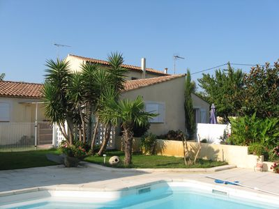 Photo for Aigues-Mortes Rental 400 m from the walled city on secure ground raised