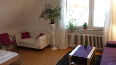Photo for cozy, small apartment 2 BR, under the roof with shared bathroom with shower