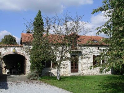 Photo for Superb 19th C. Farmhouse in extensive grounds, near Pyrenées, Pau and Lourdes