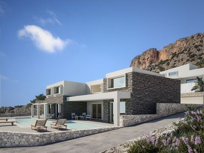 Photo for Villa Daniela private apartments with pool and seaview
