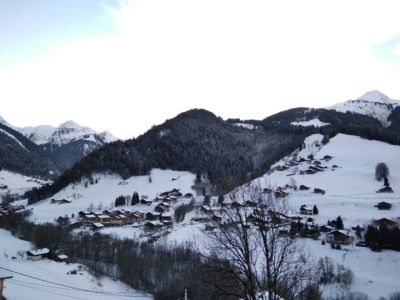 Photo for Bright apartment with balcony 5 minutes from the Arêches slopes