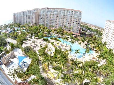Photo for 3 BR, 3 BA Oceanfront villa at Marriott Aruba Surf Club