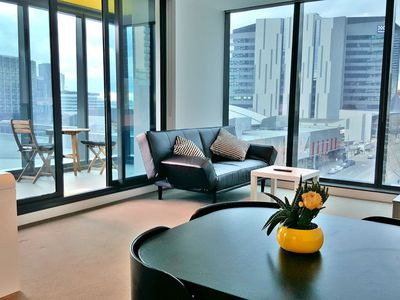 Photo for 2BR 2BTH + CAR = QUALITY & STYLE IN MELBOURNE CBD