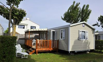 Photo for Camping La Prairie **** - Mobile home 4 Rooms 4/6 People