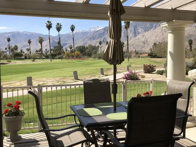 Photo for South Palm Springs Condo - Fantastic Golf and Mountain Views!