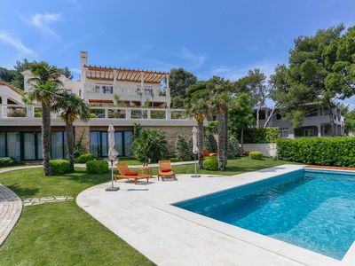 Photo for This 5-bedroom villa for up to 10 guests is located in Slatine and has a private swimming pool, air-