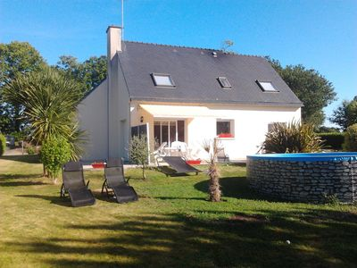 Photo for House between city and countryside, garden, quiet, close to beaches
