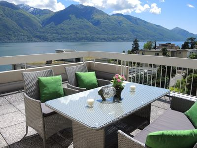 Photo for Attica-apartment with spacious terrace and wonderful view near the lake promenad