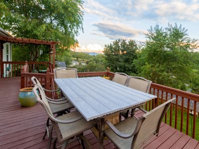 Photo for West AVL Family Funhouse • HUGE playground • Large Deck w/ Views • 5mi to AVL
