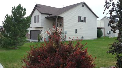 Photo for Eclipse Central Home--Aug 21st--5 miles to the beautiful Idaho Falls Greenbelt.