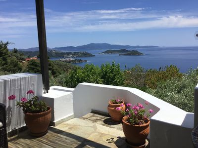 Photo for air, light, view, pool, villa in Skiathos