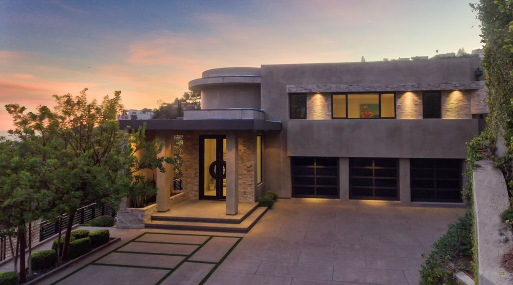 Property Image#4 A 7 Bedroom Gated Architectural Masterpiece. Crown Jewel  Of Hollywood Home Design Ideas