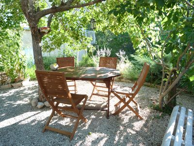 Photo for Haven of peace in Drôme Provencal with large garden by the river