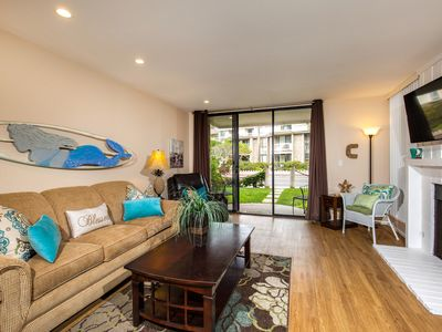 Photo for Beautiful Ground Floor Condo w/Oceanview Patio~Just Steps to the Sand at NCV