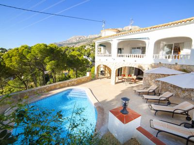 Photo for Altea la Vella Holiday Home, Sleeps 8 with Pool, Air Con and Free WiFi