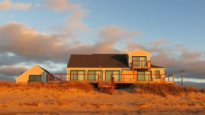 Photo for 325 Harmes Way (#107771) ~ Waterfront Three Bedroom Beach House with Central A/C