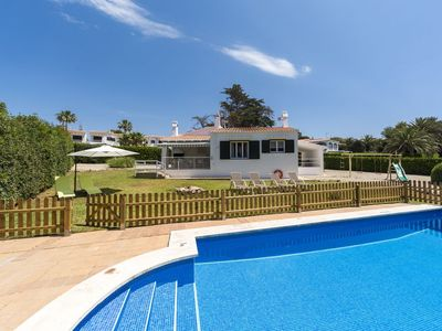 Photo for VILLA BINI ALANA - Ideal for families, fenced pool, close to the beach