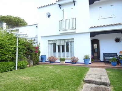 Photo for Semi-detached house with garden at 200 m from the beach