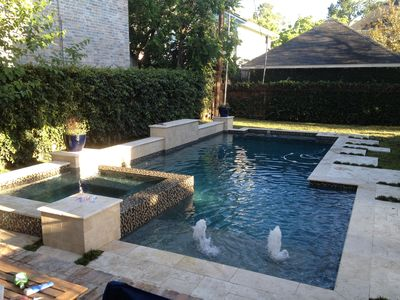 Photo for Luxury home 6 miles from Texas Medical Center available with pool/hot tub 5/4.5