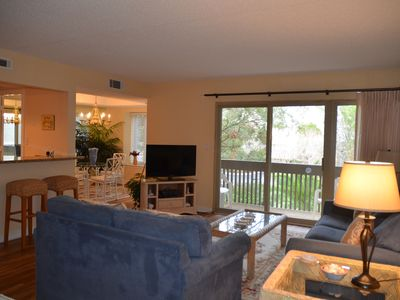 Photo for 1686  Bluff Villa, South Beach, Sea Pines Plantation