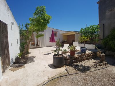 Photo for Apartment Can Corem 3 on finca, AC, swimming pool, near Es Trenc