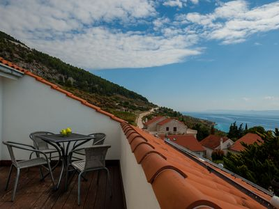 Photo for Livia 5★Fabulous 1 BR apartment★shared BBQ★amazing sea view