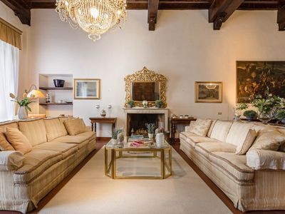 Photo for A Grand First Floor 3 Bedrooms 3 Bathrooms Apartment Within the Walls of Lucca