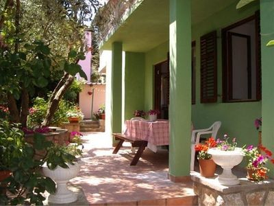 Photo for Holiday apartment with large terrace and beautiful garden