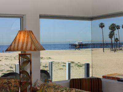 Photo for Ocean Front Upper Unit, Amazing View of Balboa Pier, Private Balcony