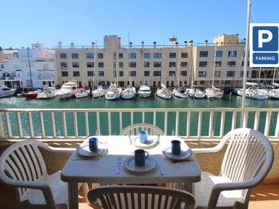Photo for Apartment in Empuriabrava, 400 meters from the beach, sleeps 6 people