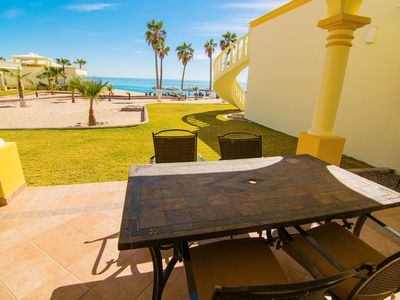 Photo for Stunning 4 Bedroom Beach Villa on Sandy Beach at Las Palmas Beachfront Resort V14