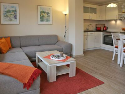 Photo for 2 room app.  up to 4 pers. + Toddler, washing machine - Excl. App. Starfish, W-LAN, 250 m to the beach