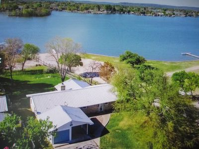 Photo for Lake LBJ Open Water Home with Boat Dock/House and 2 Jet Ski Spots,