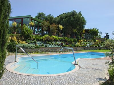 Photo for Luxury Villa - Vineyards, 14 Guests, Heated Pool & SPA, Free Cook, Free Wine