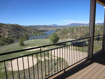 Photo for Amazing Lake & Mountain Views - Lakefront Property On Hauser Lake