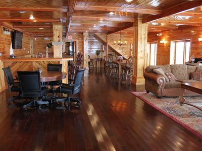 Photo for Spectacular Waterfront Home in Clayton, Huge Dock