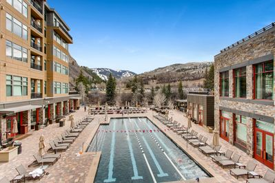 Pool - Your rental includes access to an heated saltwater 25-yard lap pool (open year-round).