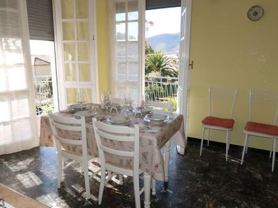 Photo for Nice apartment for 18 guests with WIFI, A/C, pool, TV, balcony, pets allowed and parking