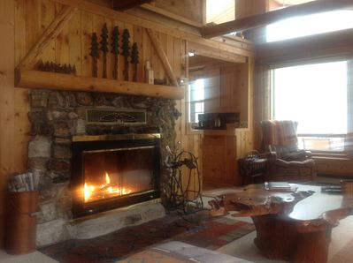 River Front Log Cabin, Mountain Views, Pet friendly,ATV Trails, hiking,  fishing - Nathrop