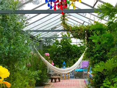 Photo for greenhouse located on a private nature area 3km from the see