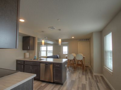 Photo for Bright and Modern 2 bedroom apartment with an AMAZING deck!!!