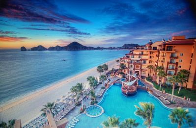 Photo for GREAT VALUE: SPRING 20: 5 STAR Oceanfront Resort w/ Ocean View, Cabo San Lucas
