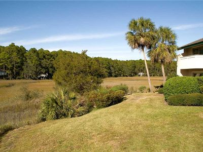 Photo for 268 Stoney Creek | Marsh View | Complex Pool | Walk to Dining & Shopping @ Harbour Town | Sea Pines