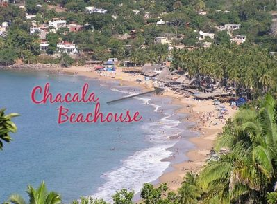Only house on the sand at Chacala Beach/Sleep 6-7. See also VRBO 894608