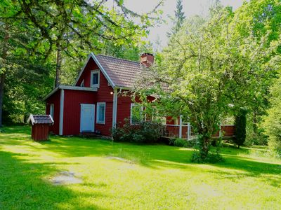 Typical Swedish house in a secluded location just a few minutes' walk from